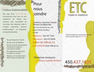 Dépliant ETC exterieur 2017-2020