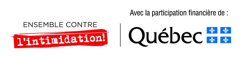 logo contre l'intimidation Québec